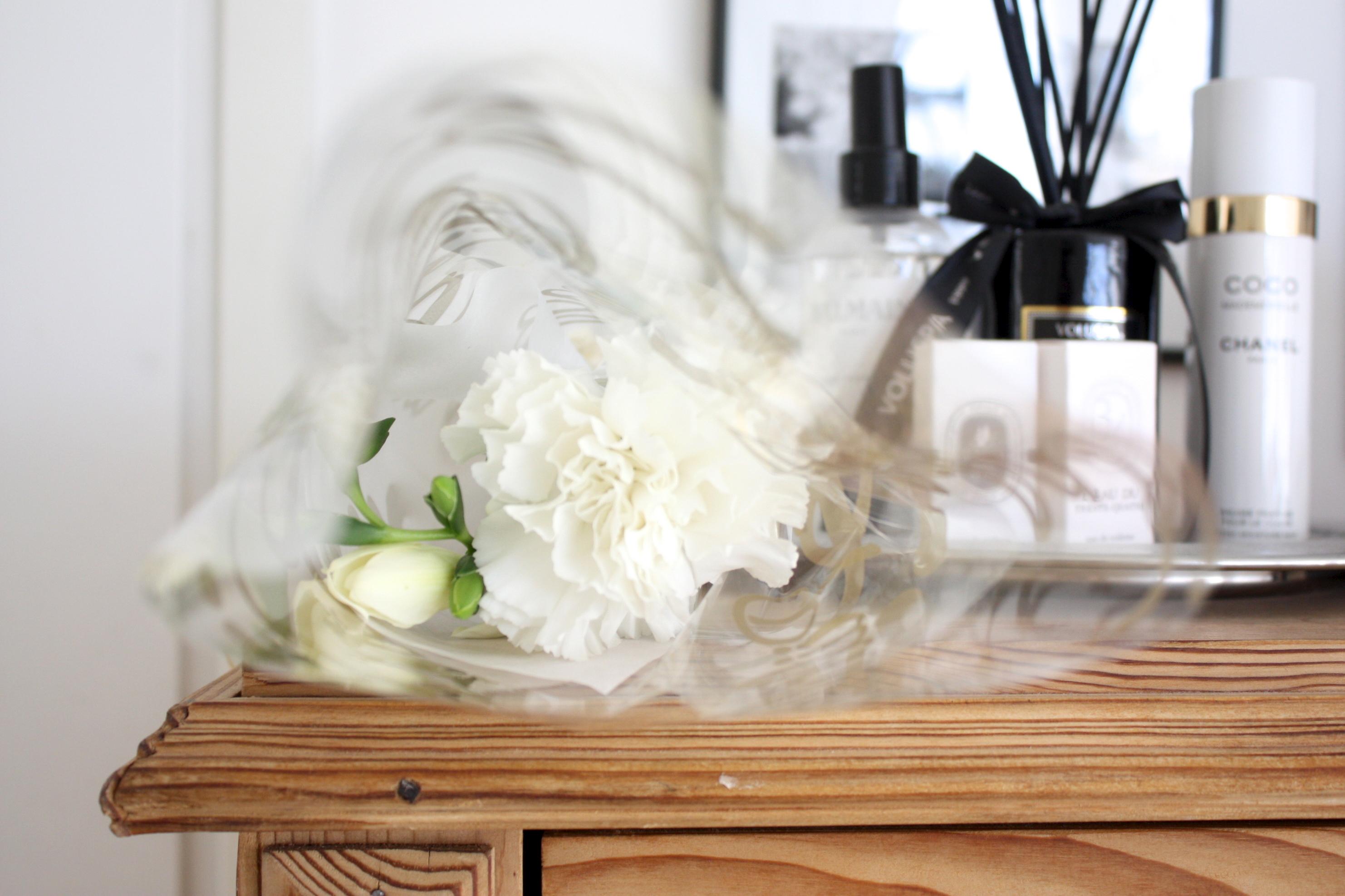 Kukkakaupan kautta kotiin