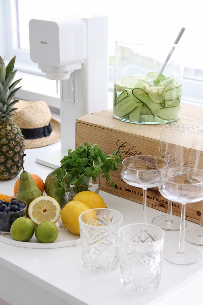 Homevialaura, Soda Stream, Soda Bar, hiilihapotuslaite, kesäjuhlat