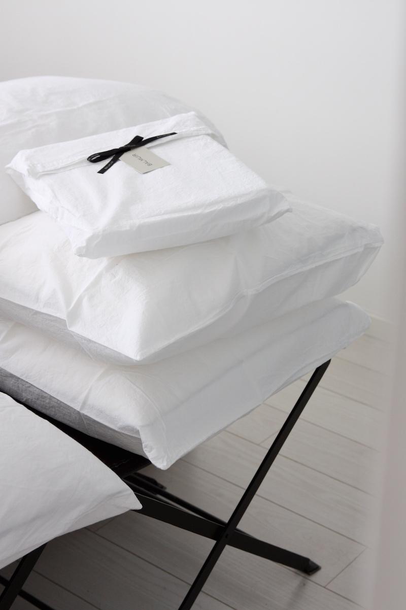 Homevialaura, Balmuir Maggiore perkaalipuuvillalakanat, makuuhuoneen sisustus, petaus