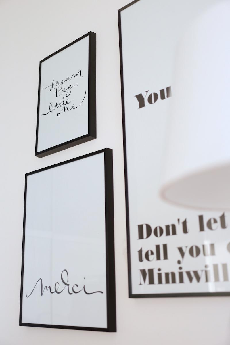 Homevialaura, lastenhuone, tauluseinä, juliste, Annika Välimäki, Miniwilla