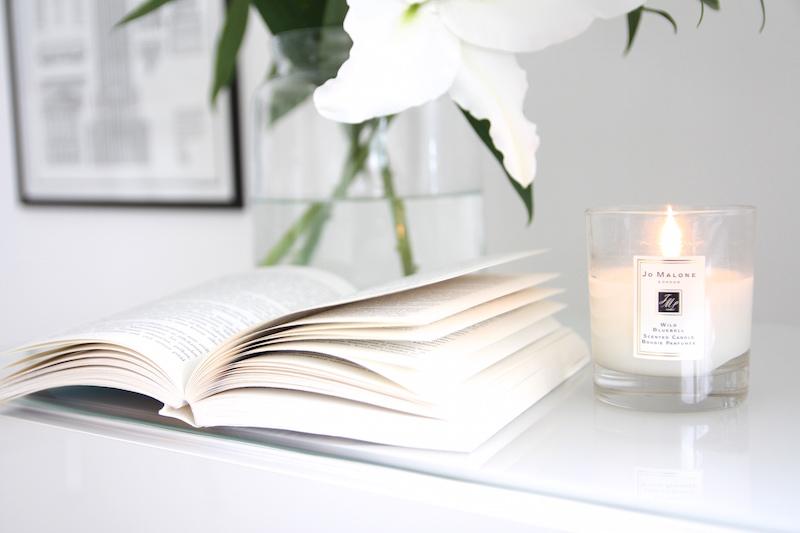 Homevialaura, kirja, Jo Malone, tuoksukynttilä