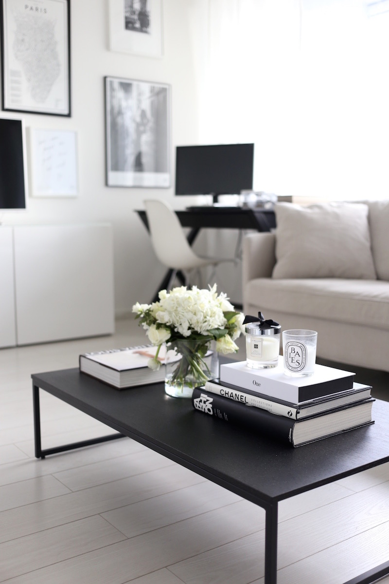 Homevialaura, coffee table styling, Elle Decor