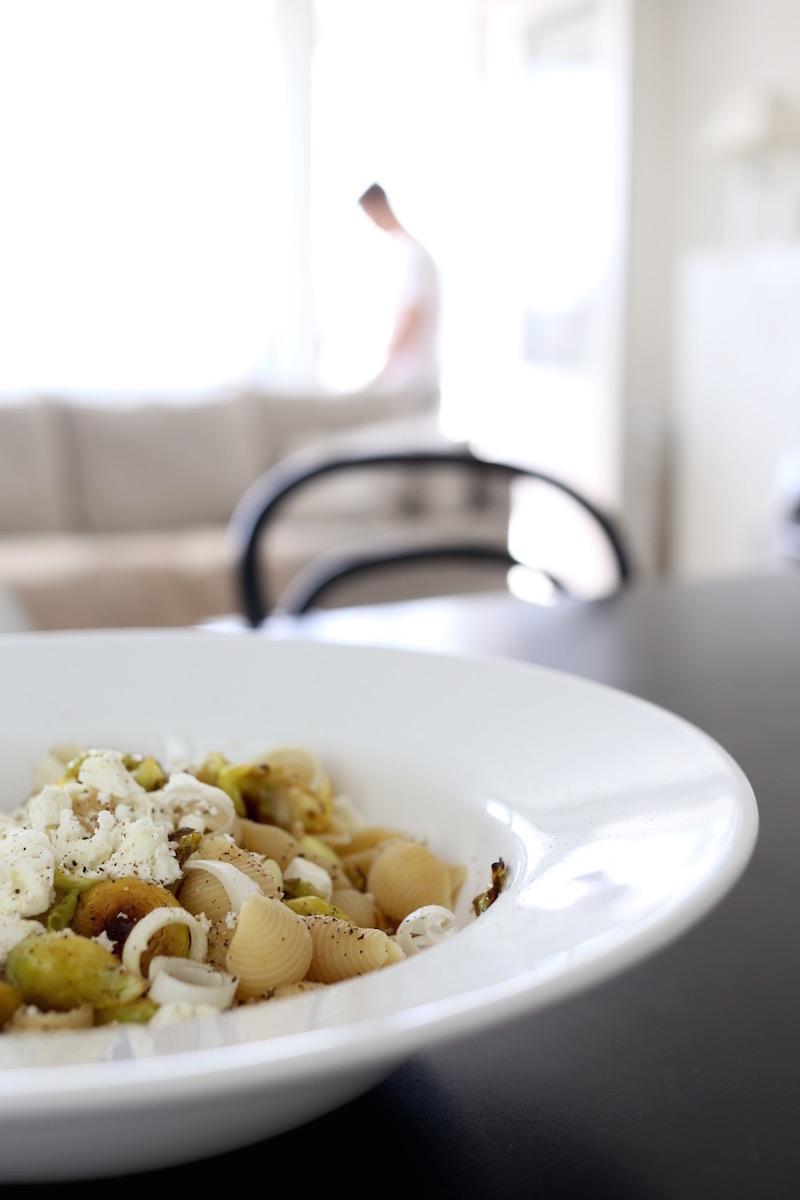 Homevialaura, Urtekram, italialainen luomupasta, pastasalaatti