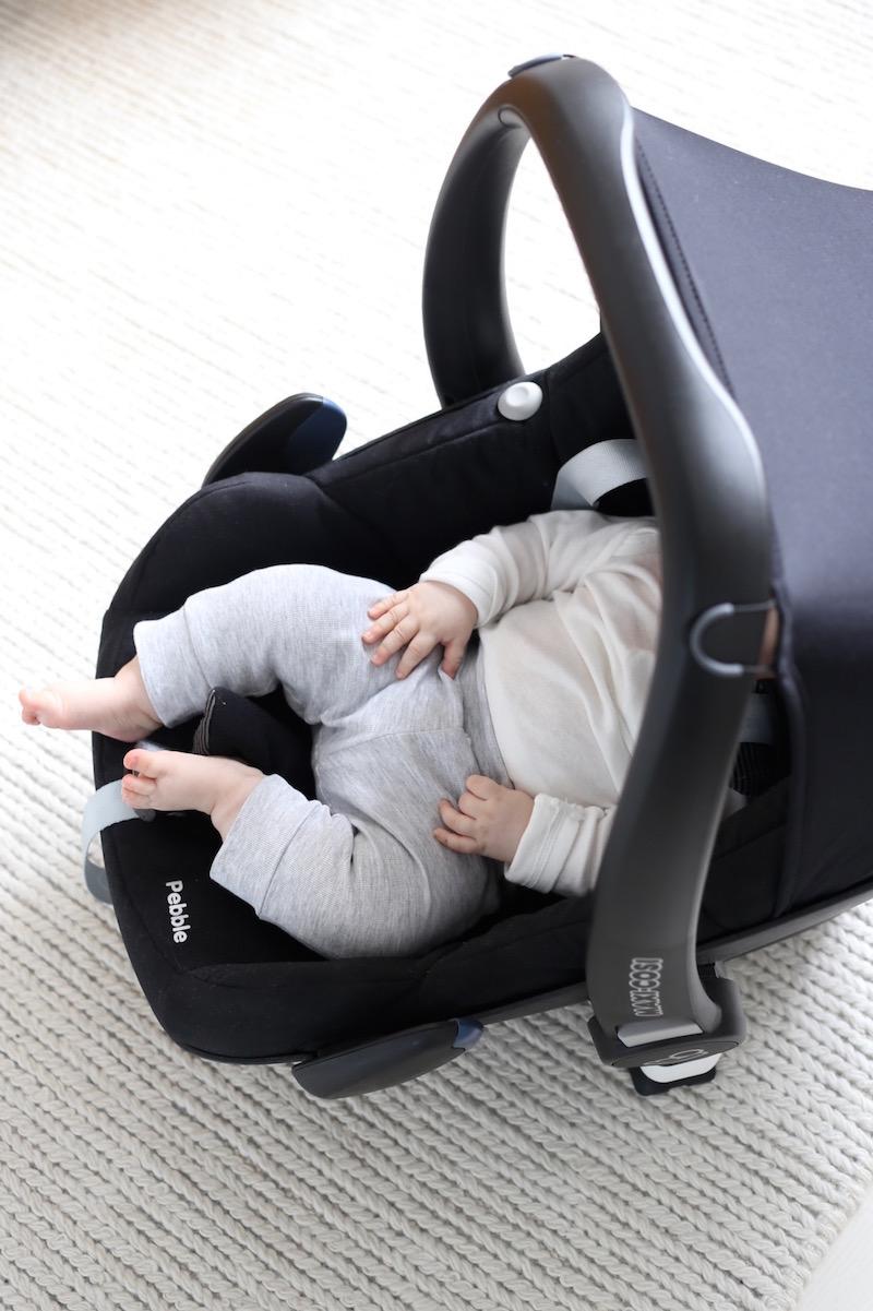 Homevialaura, vauvan turvaistuin, Maxi-Cosi Pebble