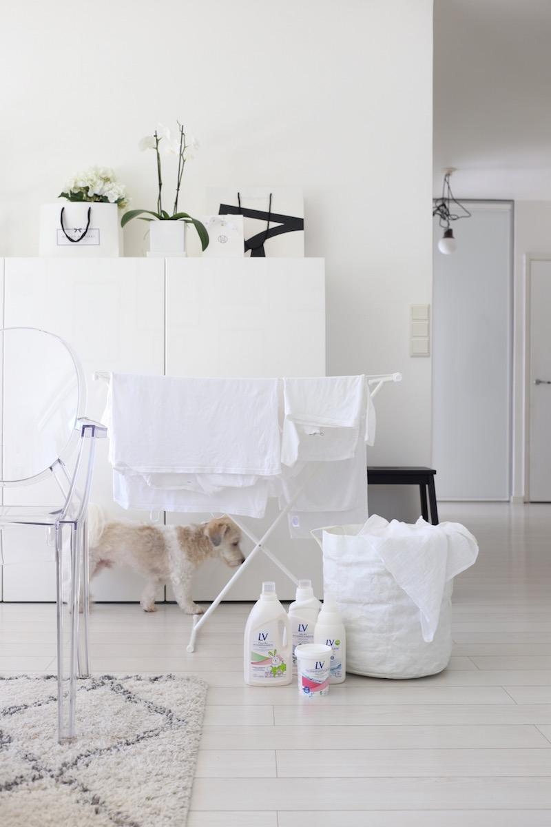 Homevialaura, pyykinpesu, LV, Lumivalko