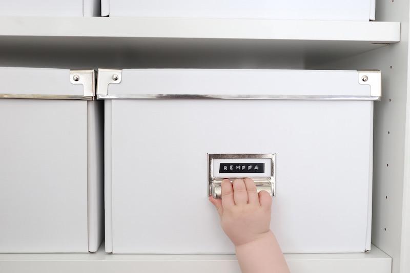 Homevialaura, kodin säilytys, järjestys, Ikea, valkoinen laatikko