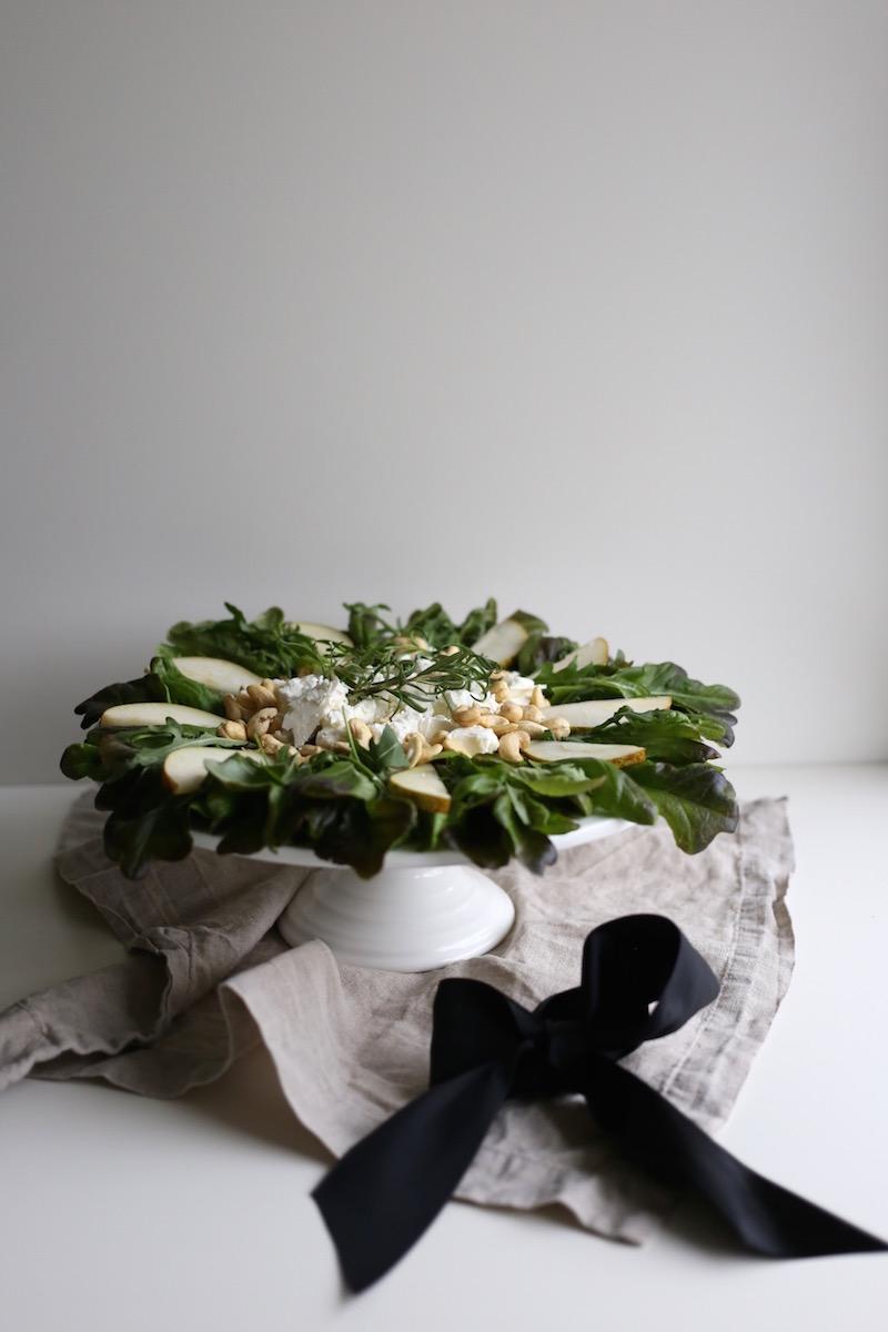 Homevialaura, joulusalaatti, kranssisalaatti