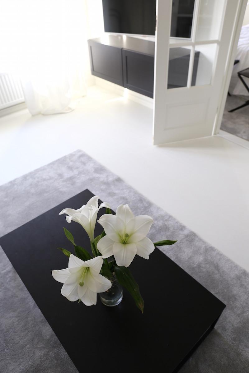 Homevialaura, olohuone, VM-Carpet, Hattara, harmaa nukkamatto
