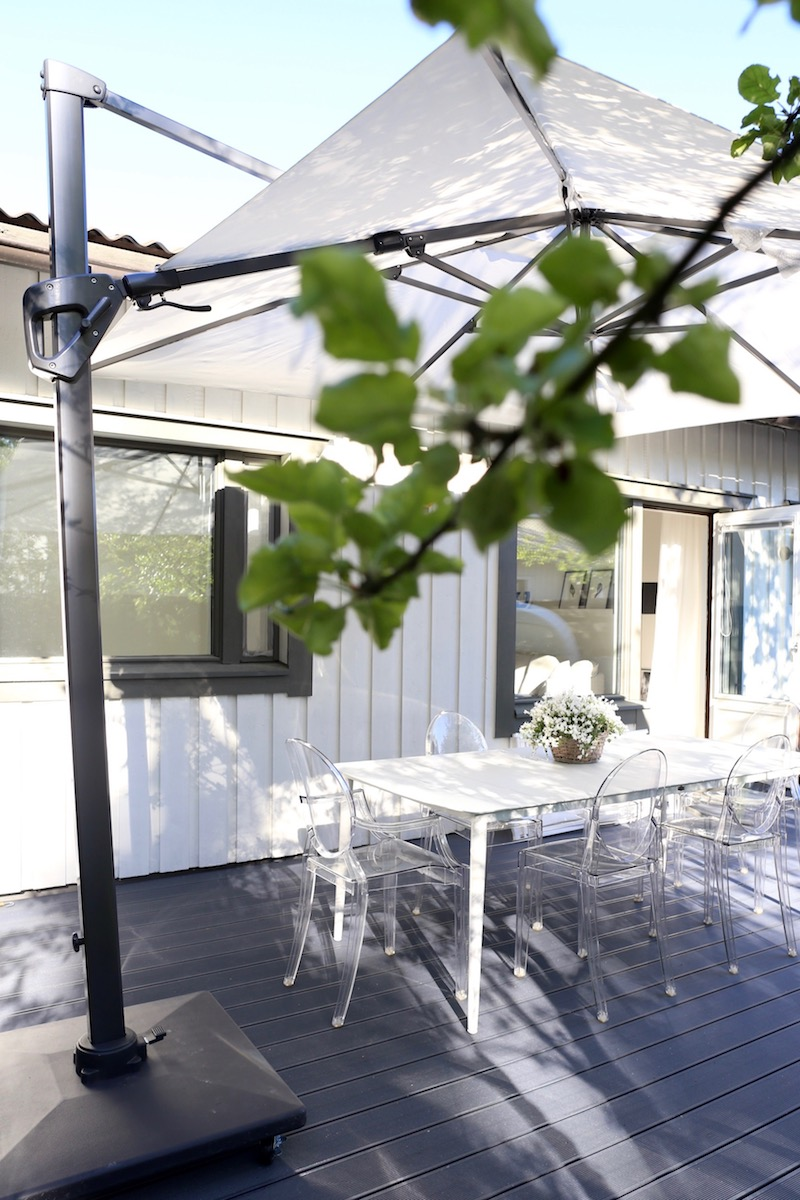 Homevialaura, piha, terassi, puutarha, ulkokalusteet, UPM Profi, komposiitti