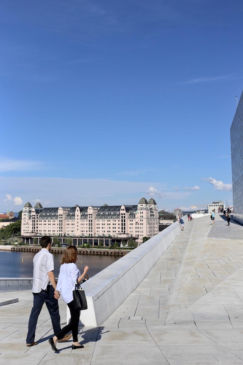 Homevialaura, Oslo, kokemuksia, matkaopas, Oopperatalo