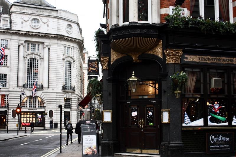 Homevialaura, joulu, Lontoo