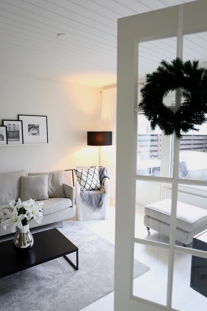 Homevialaura, joulu, olohuone