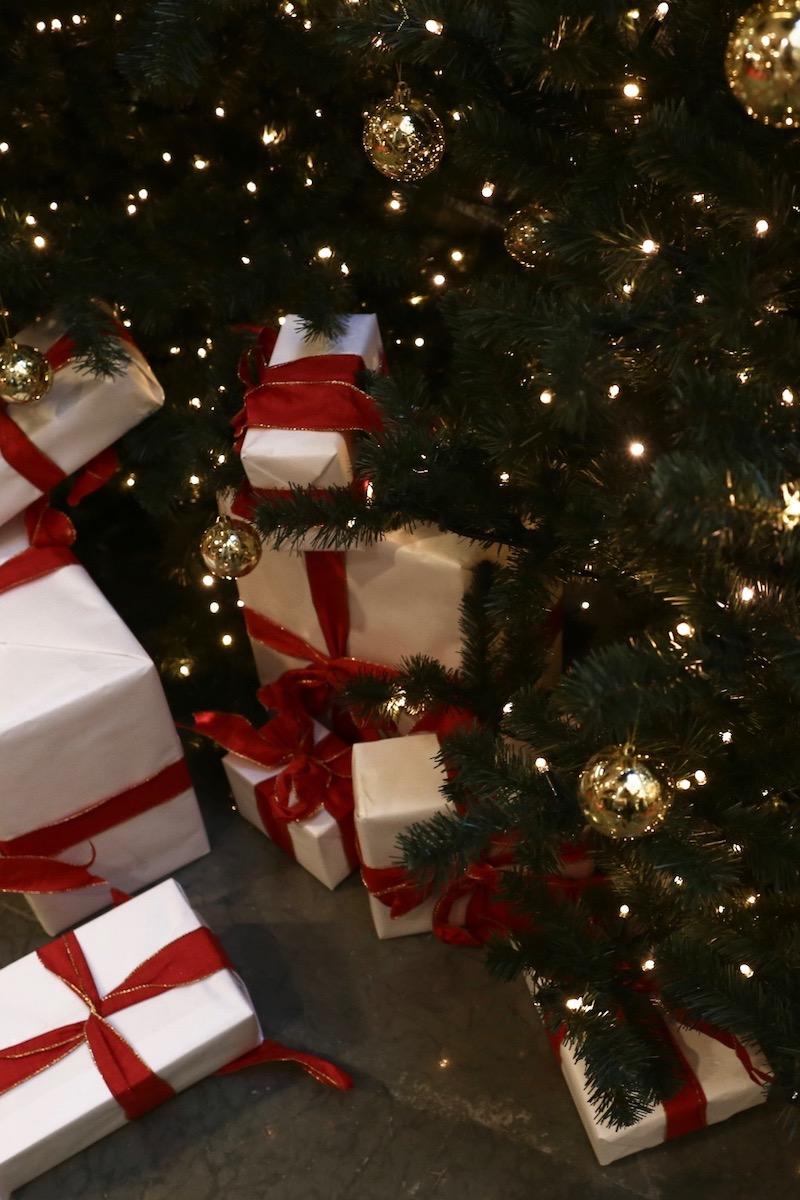 Jouluostoksilla Tukholmassa