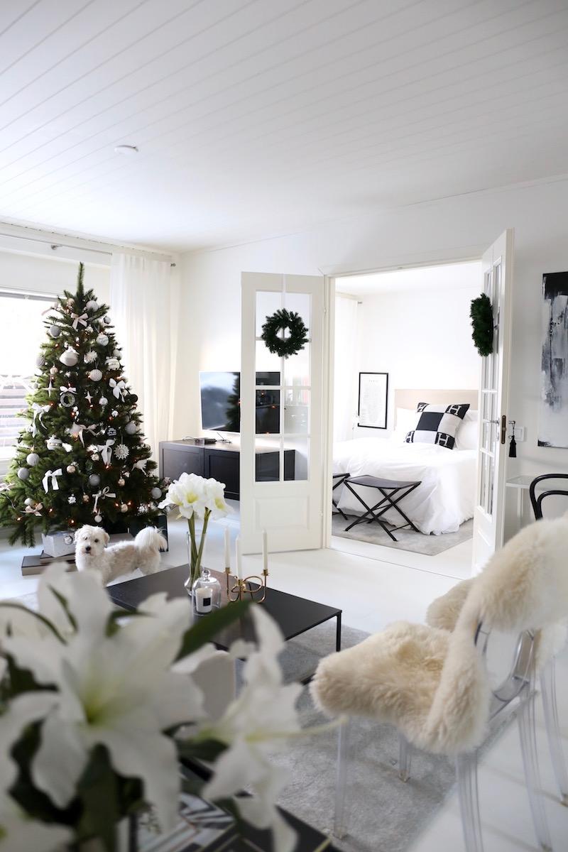 Homevialaura, joulu, sisustus, joulukuusi