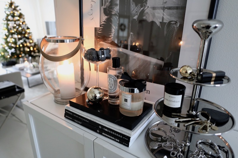 Homevialaura, joulu, eteinen, Georg Jensen, kerrosvati