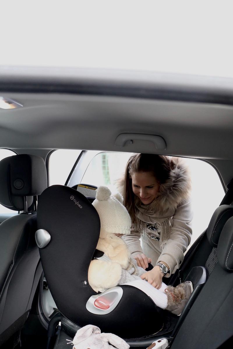 Homevialaura, Liikenneturva, lapsen turvallinen kuljettaminen autossa, turvaistuin