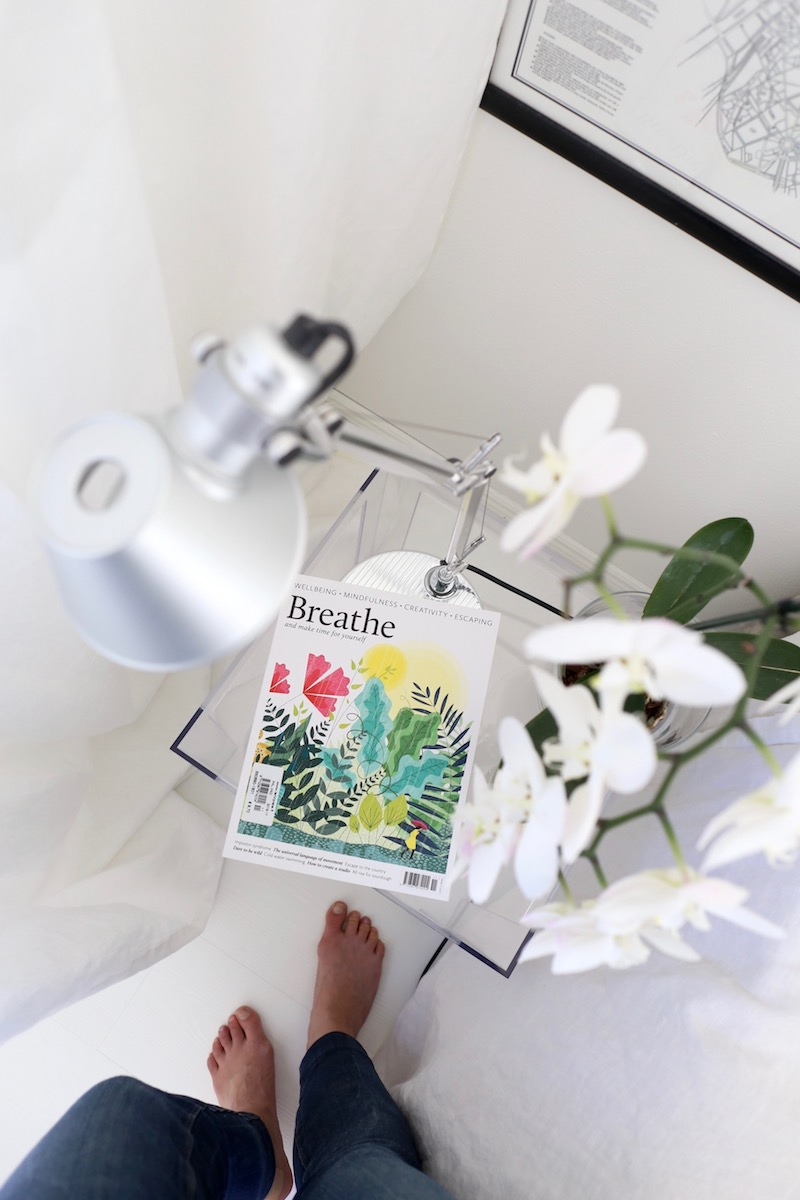 Homevialaura, lukeminen, Breathe, lehti