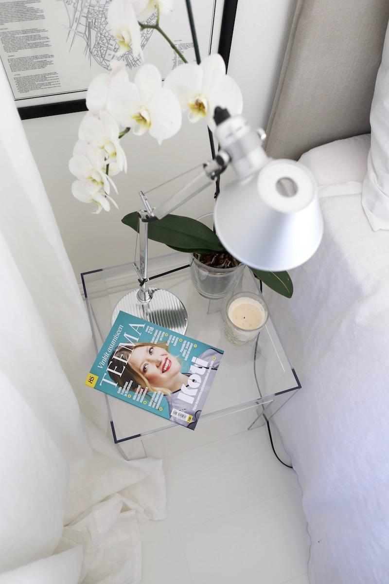 Homevialaura, lukeminen, HS Teema Koti, lehti