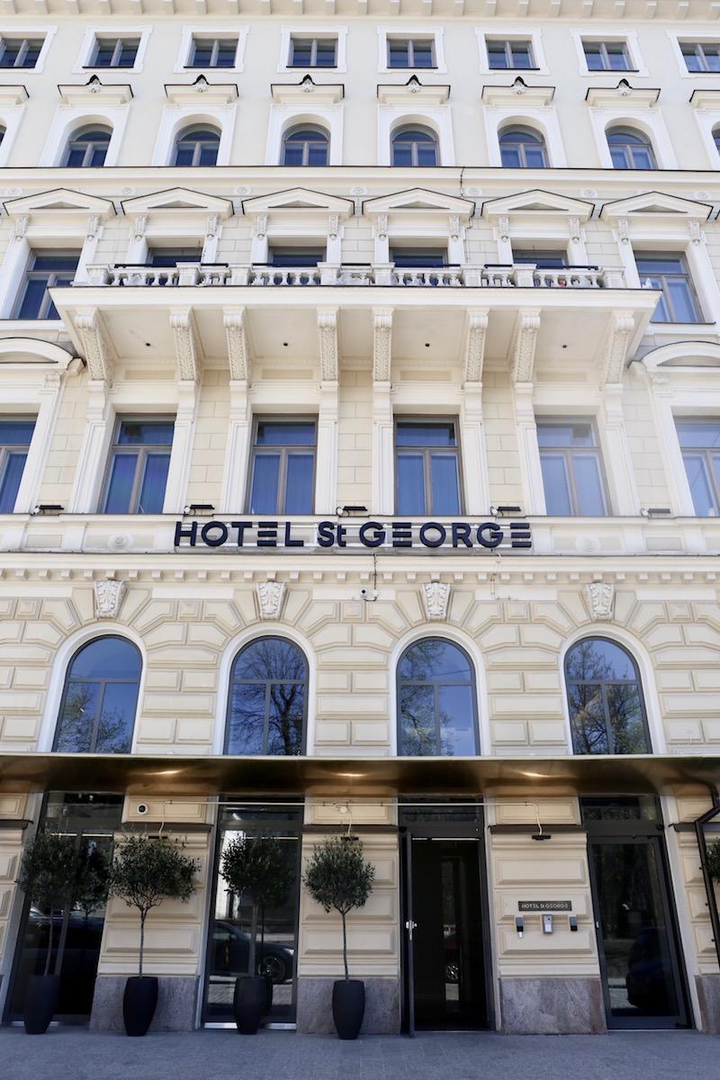 Hotel St George ja yhä ihanampi Helsinki