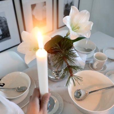 Paluu perusasioiden äärelle: astioiden keräämiseen ja joulun yksinkertaistamiseen