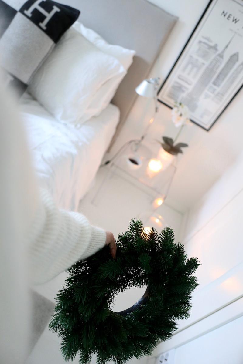 Homevialaura, joulu, havukranssi