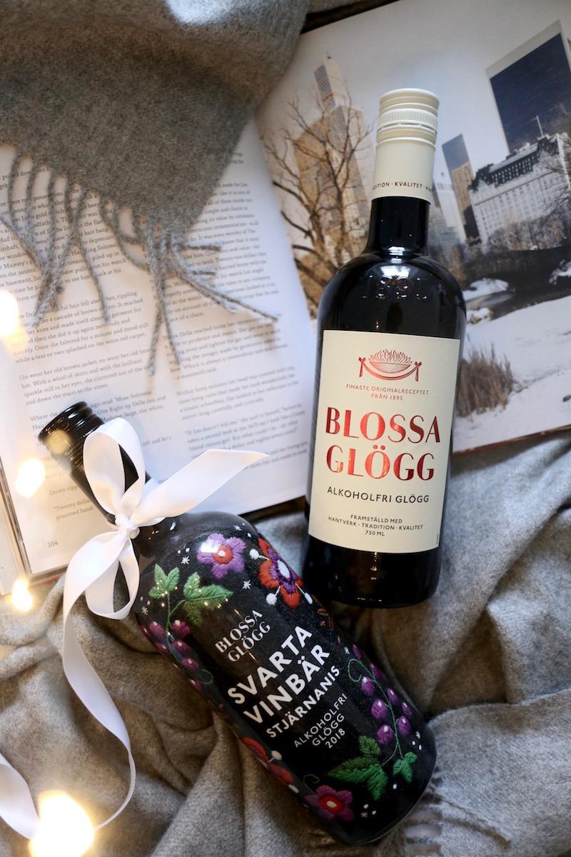 Homevialaura, joulu, alkoholiton glögi, Blossa