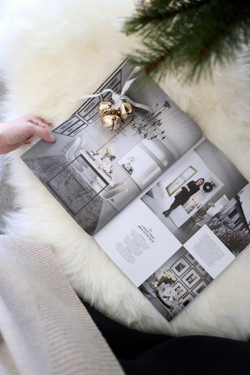 Homevialaura, Glorian koti 12/2018, Joulupuu on rakennettu, Jonna Kivilahti, Krista Keltanen