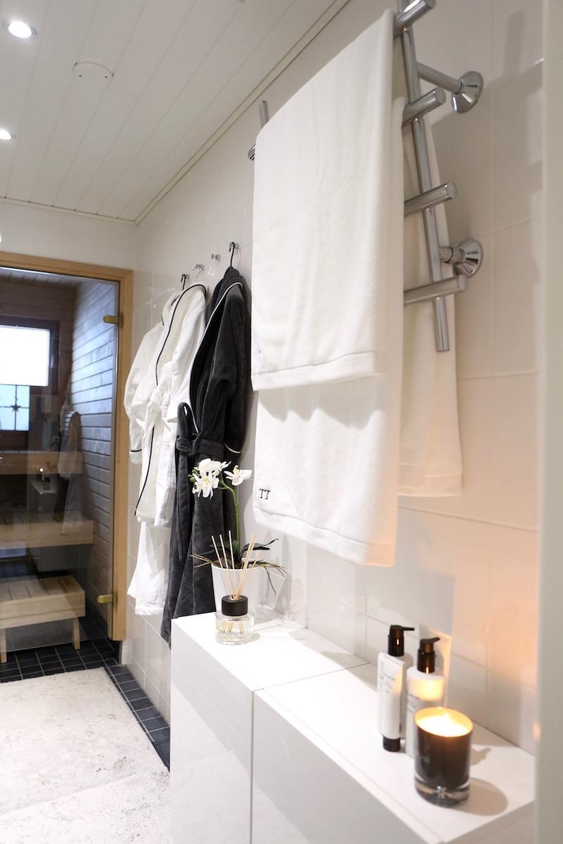 Homevialaura, Balmuir, Portofino, kylpytakki, home spa, tuoksukynttilä