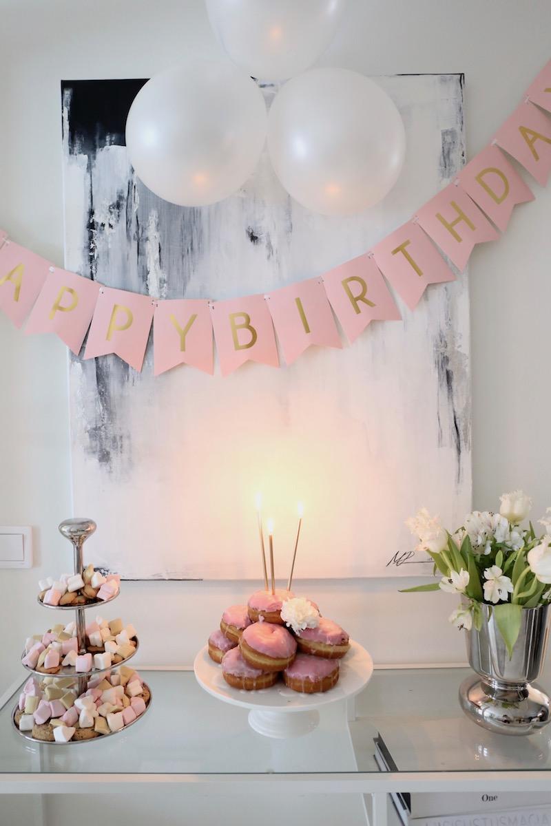 The pink party – helppoakin helpommat 3-vuotissynttärit