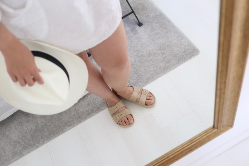 Homevialaura, Freedom Moses, sandaalit, terveyssandaalit