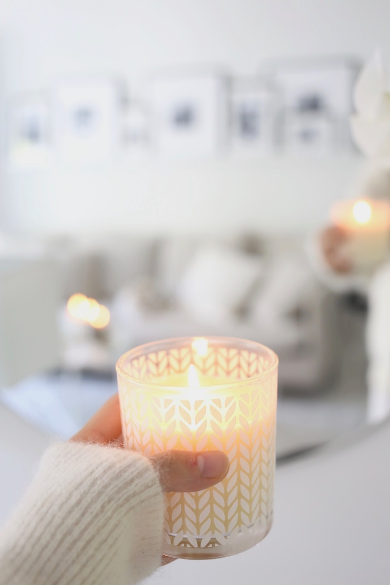 Homevialaura, syksy, kynttilät, tunnelmointi