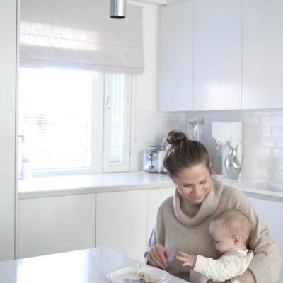 Toivepostaus vauvakuulumisista: kiinteiden aloittaminen