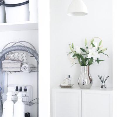 Siivouskaapin järjestys –miten siistiä siivouskaappi inspiroivaksi