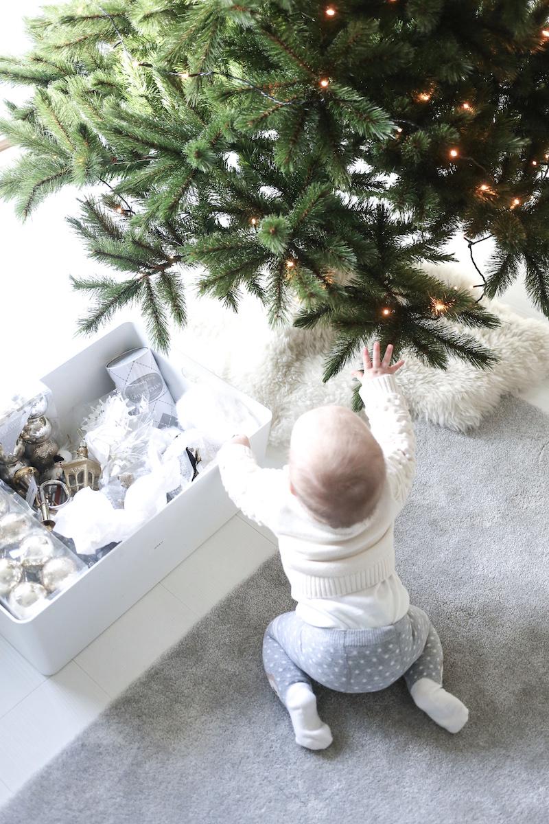 Homevialaura, joulukoristeiden säilytys, joulukuusenkoristeet
