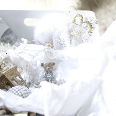 Joulukoristeiden säilytys