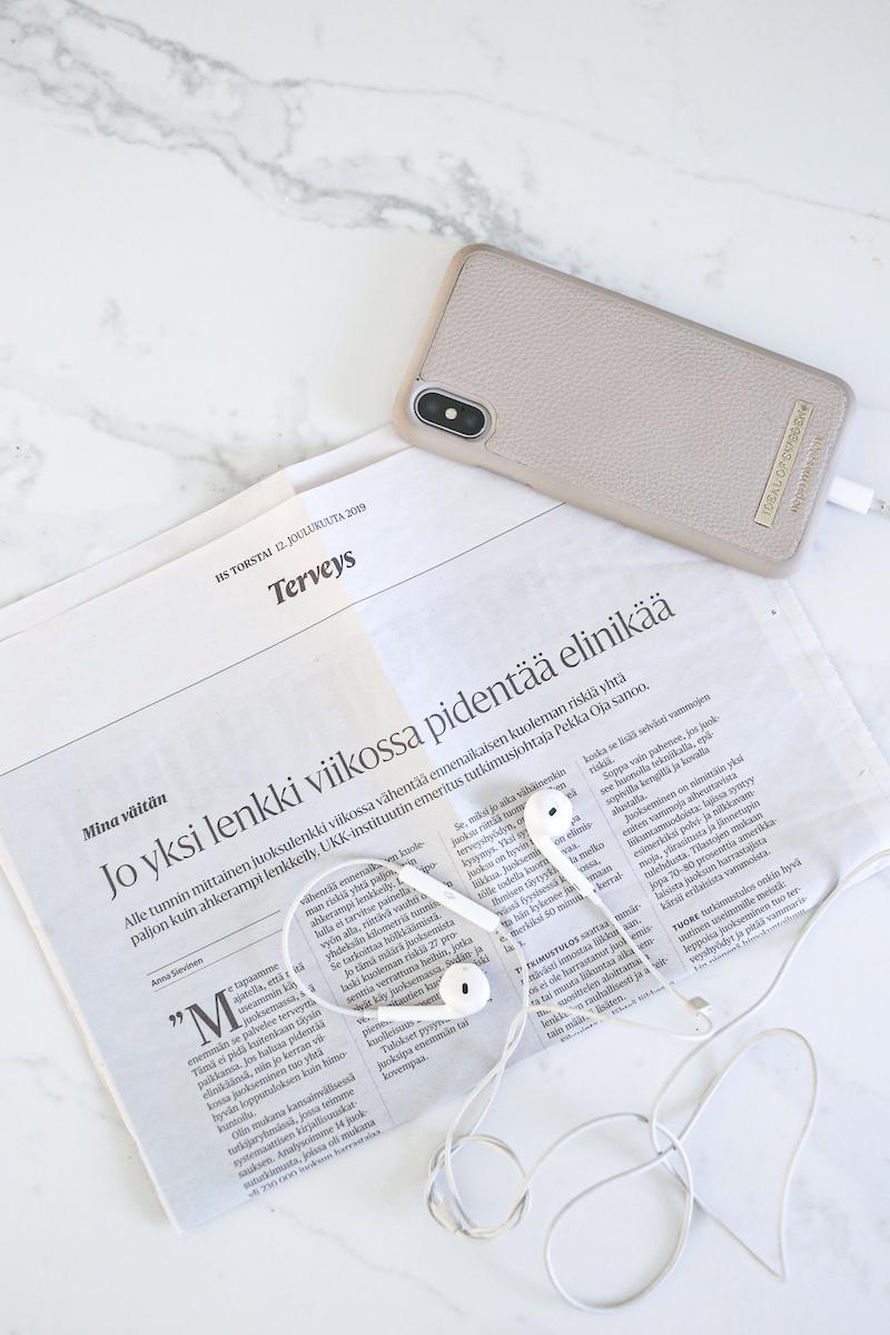 Homevialaura, juokseminen, lenkkeily, Helsingin Sanomat Terveys
