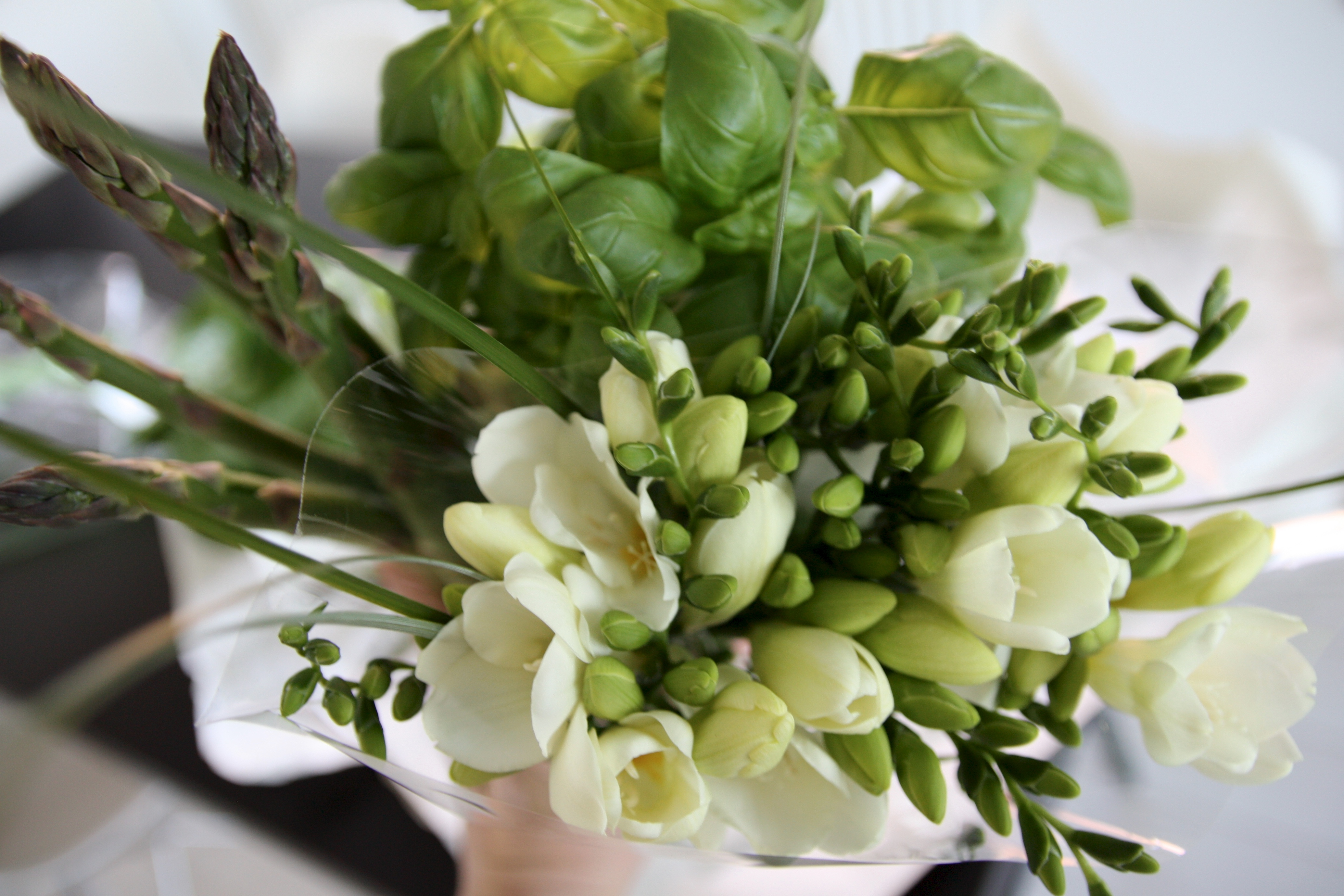 Eat your greens and buy yourself flowers