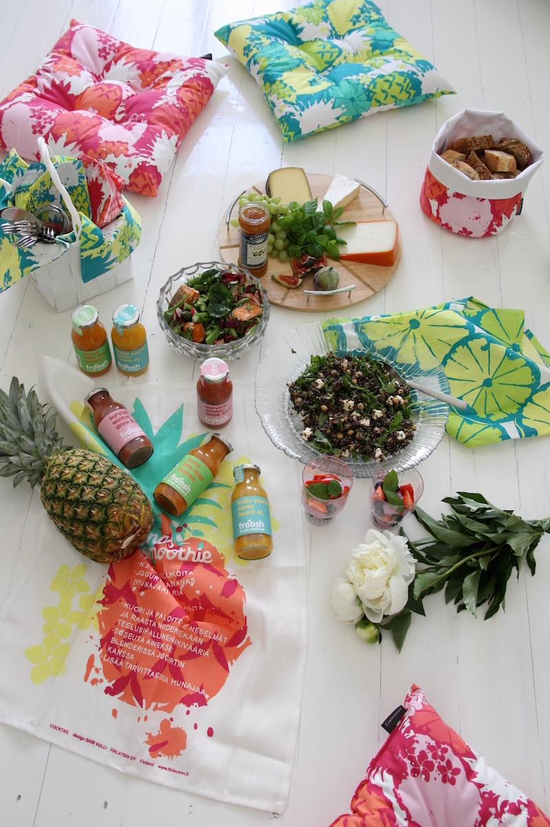 Homevialaura, Finlayson Cocktail, piknik