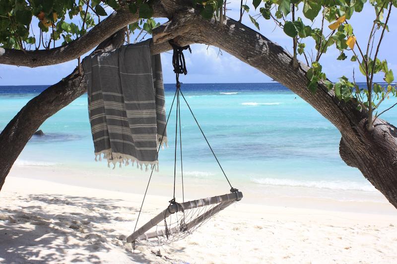 Homevialaura, Mitä pakata rantalomalle, Malediivit, hamam-pyyhe