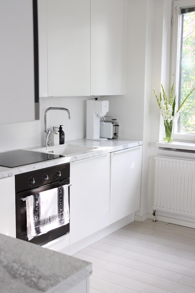 Homevialaura, keittiö, keittiöremontti, Domus, Ikea