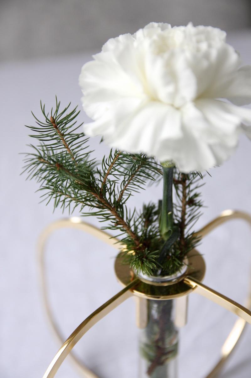 Homevialaura, Be&Liv, One vase, kulta, Ilkka Suppanen, joulukukka
