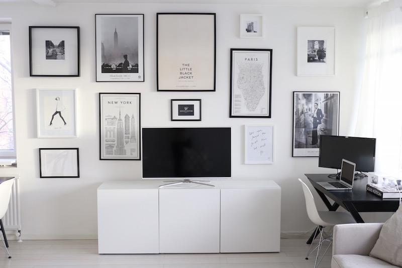 Homevialaura, tauluseinä, seinillä sisustaminen, julisteet