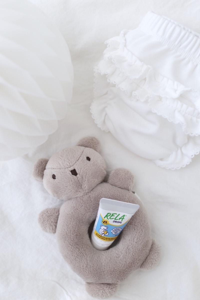 Homevialaura, Rela Drops + D Vitamiini, vauvan maitohappobakteerit