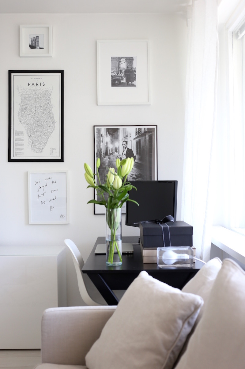 Homevialaura, olohuone, kotitoimisto, työpiste, työpöytä