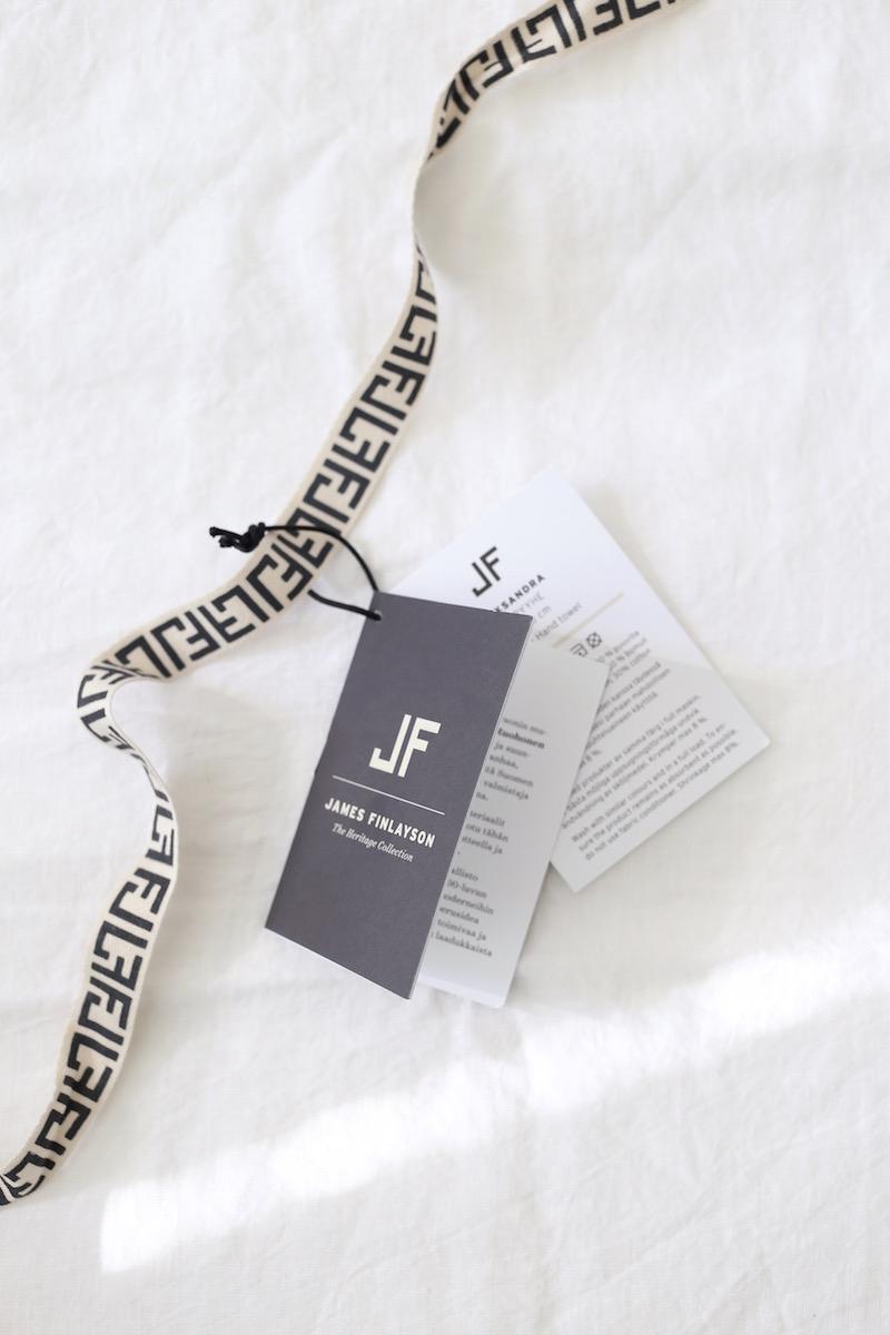 Homevialaura, James Finlayson, J.F., pellavalakanat