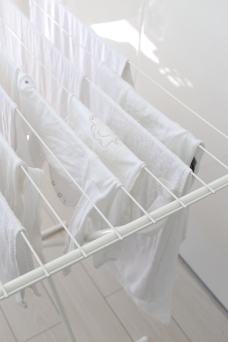 Myötätuulia pyykkinarulla ja pikkuväen pyykinpesusta