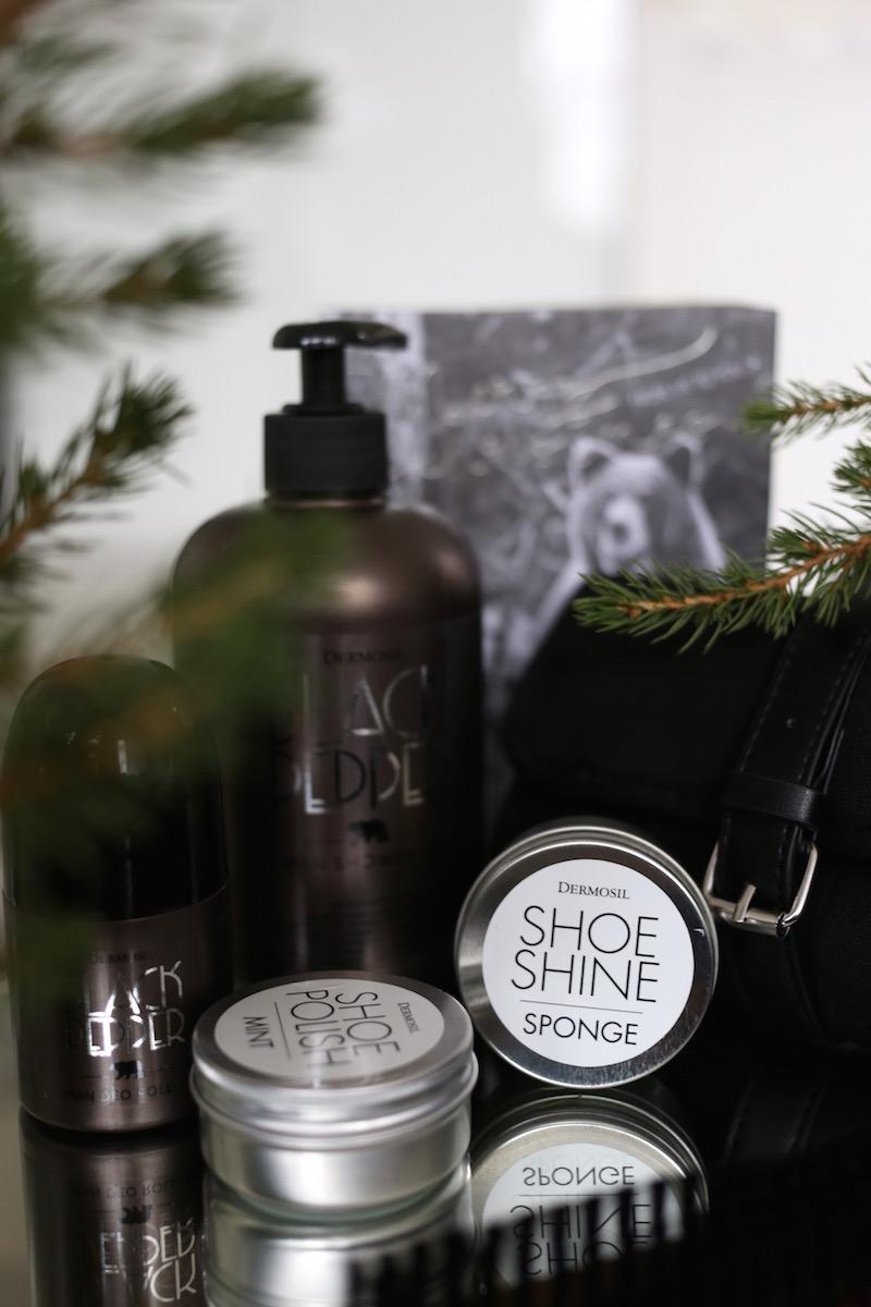 Homevialaura, Dermosil, Dermoshop, joulu, lahja, miesten kosmetiikka