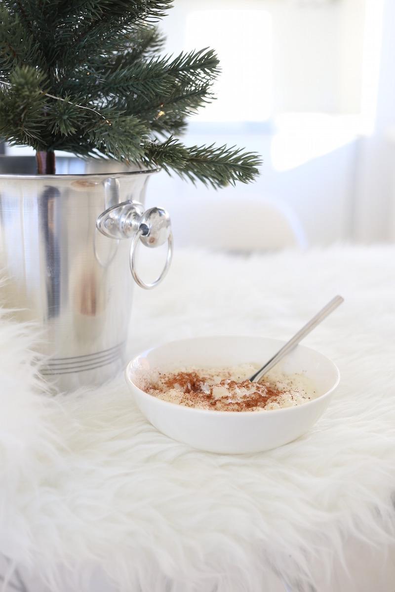 Homevialaura, joulu, keittiö, pöytäkuusi, riisipuuro