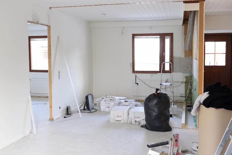 Homevialaura, uusi koti, remontti