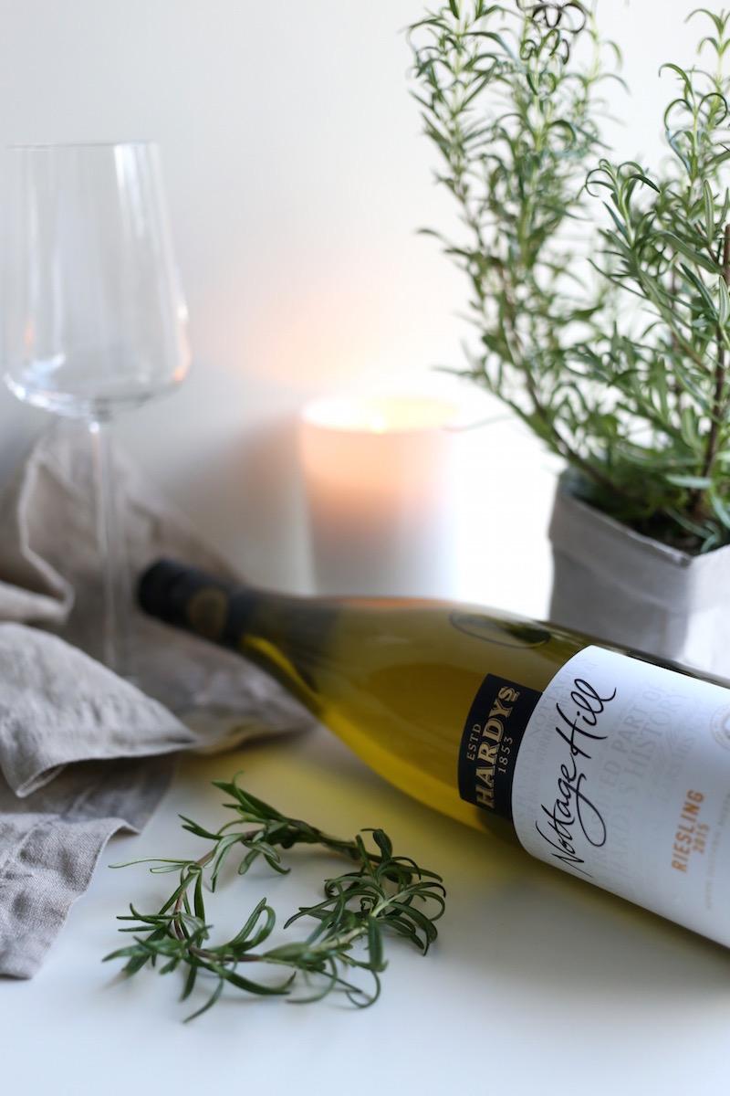Homevialaura, joulu, viini, Hardys, Nottage Hill, Riesling